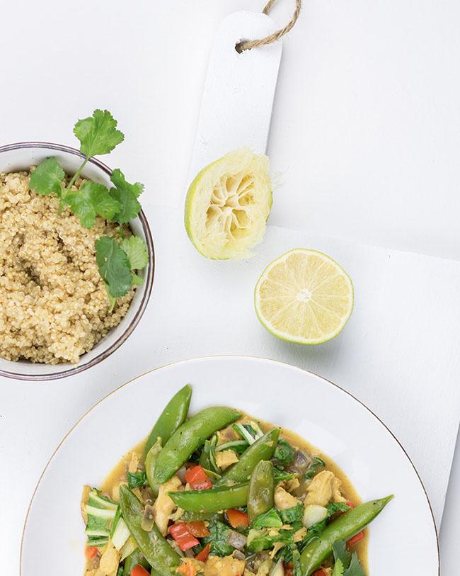 Aziatisch wokgerecht met quinoa