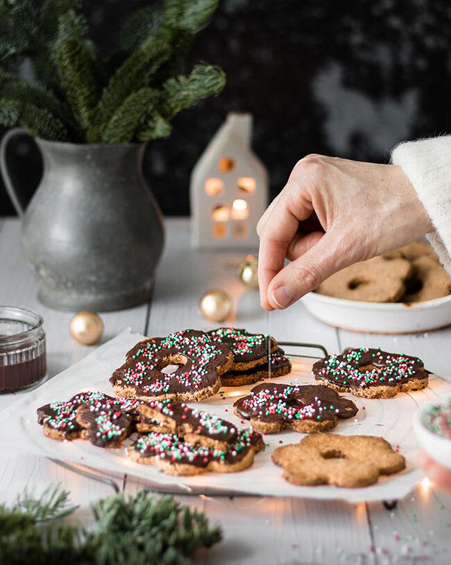 Vegan kerstkoekjes recept