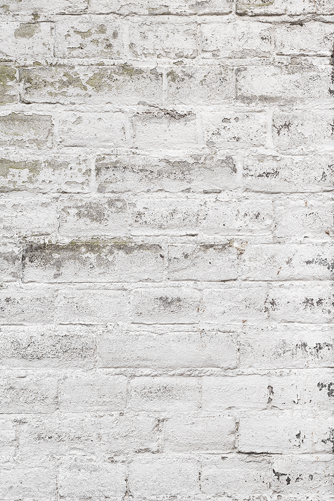 Witte bakstenen fotoachtergrond voor flatlay, food en product fotografie
